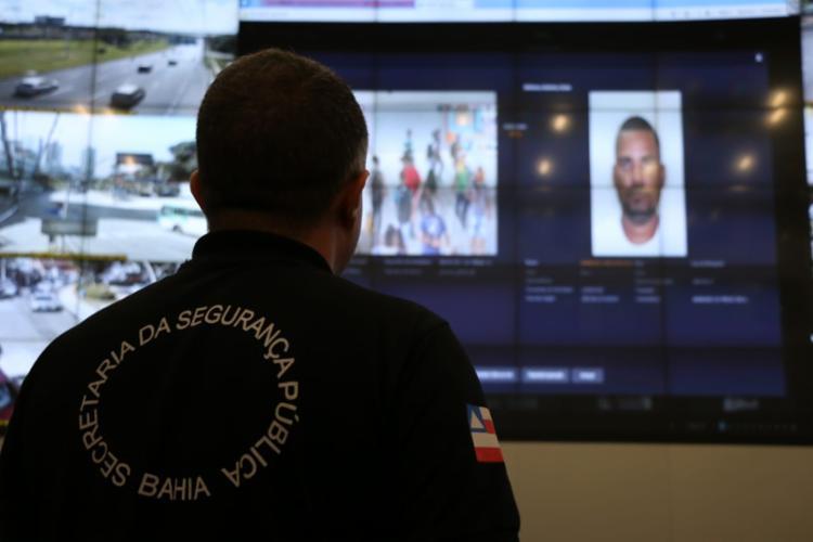 Sistema de reconhecimento gerou um alerta com 91% de probabilidade - Foto: Divulgação | SSP