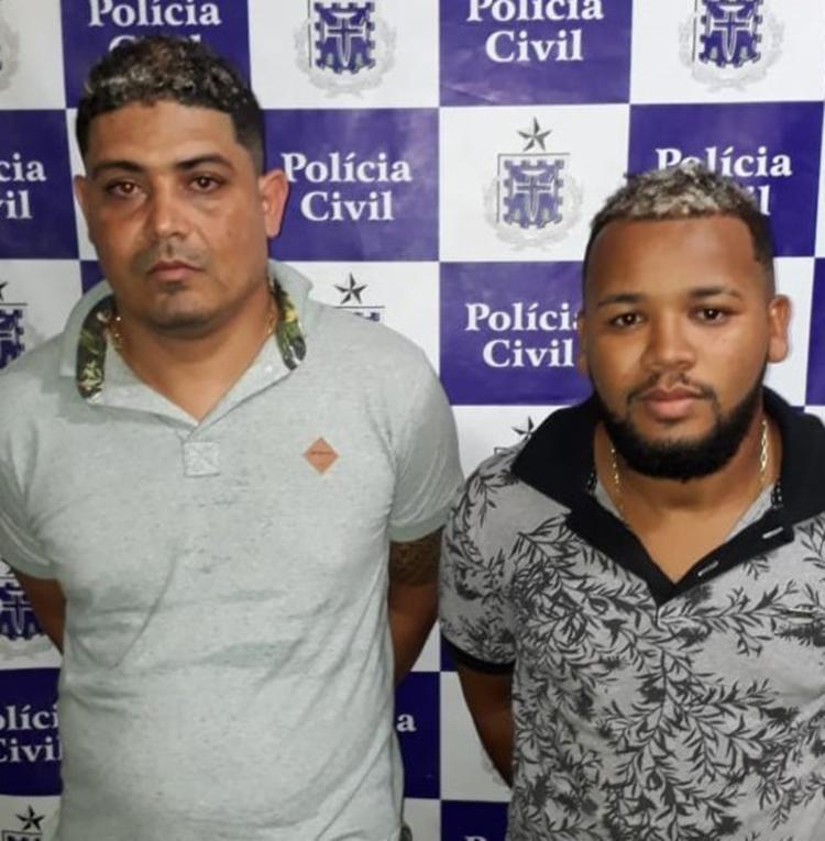 Da Penha e Vando tinham um mandado de prisão preventiva em aberto - Foto: Divulgação   SSP-BA