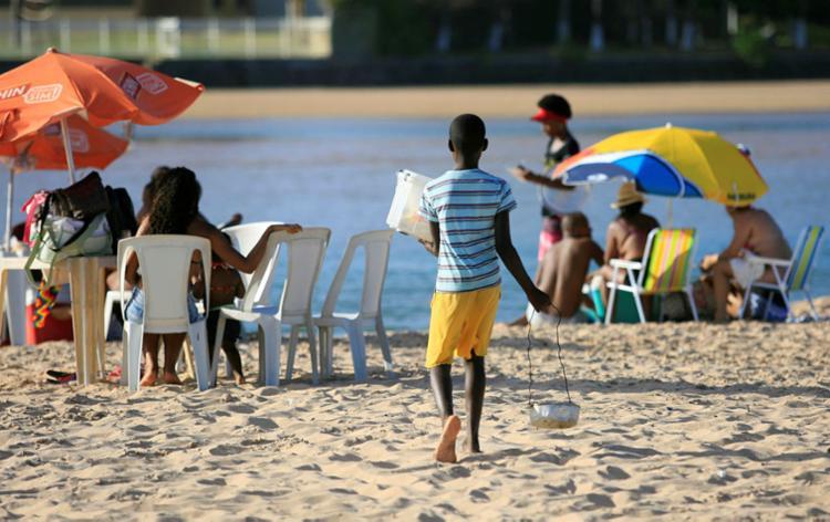 Bahia ocupa o 2º lugar entre os estados do Brasil com o maior número de crianças trabalhando - Foto: Joá Souza | Ag. A TARDE