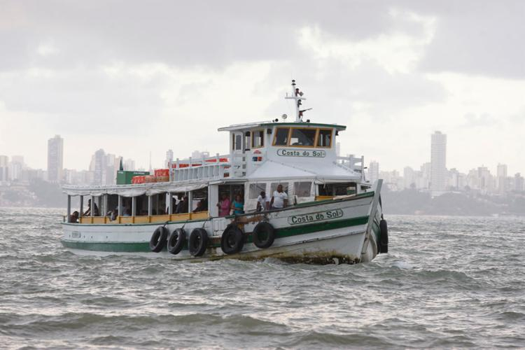 A Astramab informou que a última saída das embarcações será às 18h30 - Foto: Luciano Carcará   Ag. A TARDE