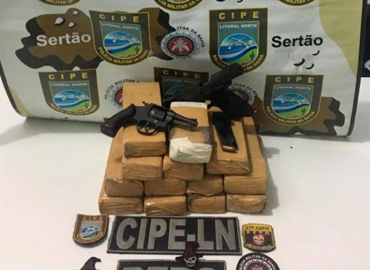 Material foi encontrado com vítimas fatais - Foto: Divulgação   SSP-BA
