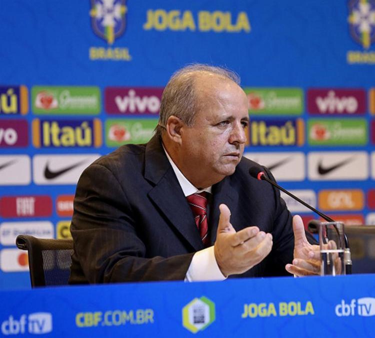O técnico Vadão durante convocação da Seleção Feminina para a Copa do Mundo da França - Foto: Lucas Figueiredo l CBF