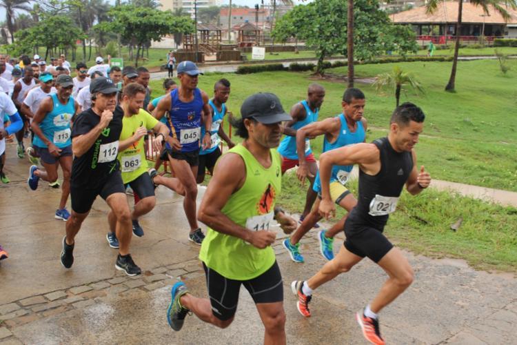Os 8 km de percurso são todos feitos nas dependências do Parque de Pituaçu