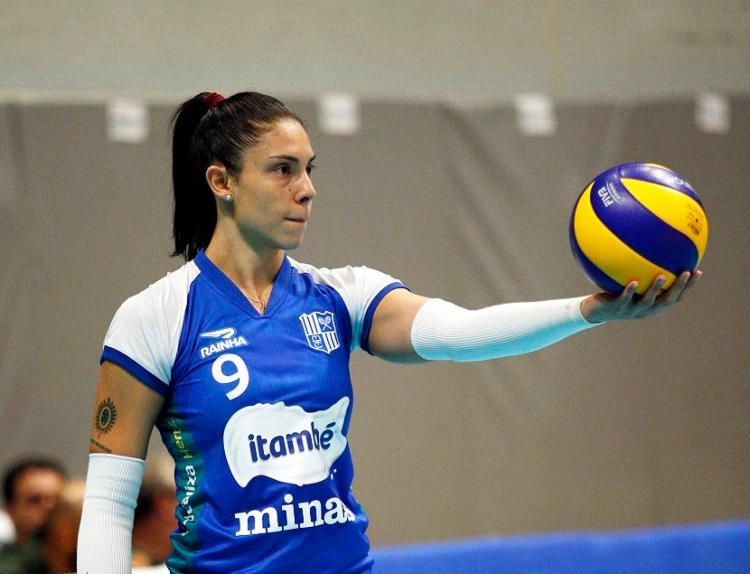 Bruna Honório disputou final da Superliga e foi a última a se apresentar à seleção - Foto: Divulgação