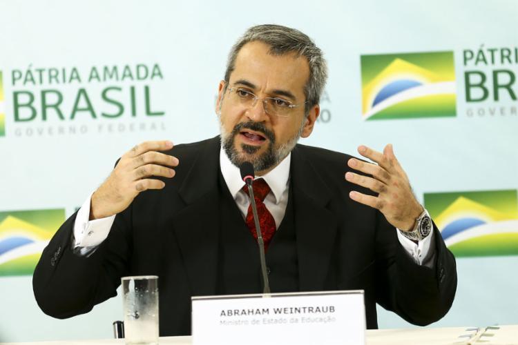 Weintraub: um desserviço ao país em nome da moral - Foto: Marcelo Camargo l Agência Brasil l 2.5.2019