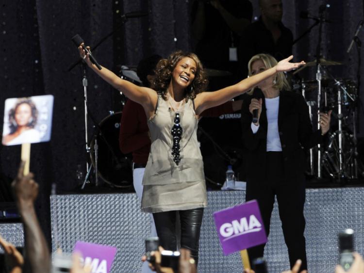 Whitney morreu em 2012, aos 48 anos de idade, por dependência química - Foto: Larry Busacc | Getty Imagens North America | AFP