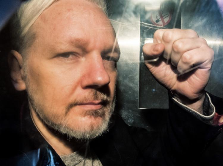 Fundador do WikiLeaks é acusado de espionagem pelos EUA - Foto: Daniel Leal-Olivas   AFP