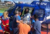 Casal de idosos é resgatado pelo Graer após acidente na BA-093 | Foto: Divulgação | SSP-BA