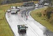 Três pessoas morrem em colisão entre quatro veículos na BA-093 | Foto: Reprodução