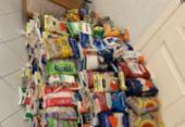 Base comunitária repassará 500 kg de alimentos para Campanha do Agasalho | Foto: Divulgação | SSP