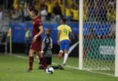 Com 2 gols anulados pelo VAR, Brasil empata com a Venezuela e sofre vaias | Foto: Uendel Galter l AFP