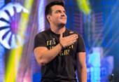 Sertanejo Bruno Belutti interrompe show após ser atingido por bomba | Foto: Reprodução | Instagram
