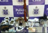 Falso educador físico é preso com drogas e anabolizantes na Bahia | Foto: Divulgação | Polícia Civil