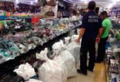 Mercadorias falsificadas avaliadas em R$ 400 mil são apreendidas em Salvador | Foto: Divulgação | Receita Federal