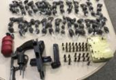 Operação resulta na apreensão de armas e drogas no Subúrbio Ferroviário; suspeito foge | Foto: Divulgação | SSP
