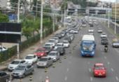 Movimento de saída da cidade deixa trânsito intenso na rodoviária | Foto: Luciano da Matta | Ag. A TARDE