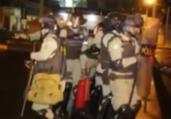 Senhor do Bonfim: espadeiros e PMs entram em confronto | Reprodução | Rede Bahia