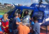 BA-093: idosos são resgatados pelo Graer após acidente | Divulgação | SSP-BA