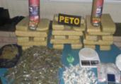Maconha e cocaína são apreendidas na Bahia | Divulgação | SSP
