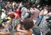 Saída da cidade apresenta fluxo intenso no feriado | Luciano da Matta | Ag. A TARDE