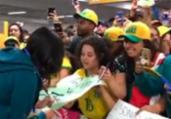 Atletas da seleção são recebidas com festa no Brasil | Reprodução | Instagram