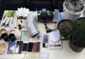 Trio suspeito de tráfico é preso em Stella Maris | Divulgação | SSP