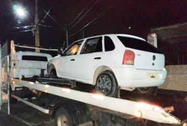 Trio é preso por roubar veículos e transportá-los para Bahia | Divulgação | SSP-BA