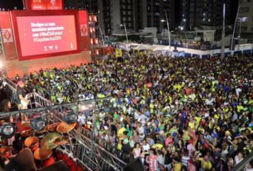 Arena no Farol da Barra fica lotada para show de Bell Marques | Divulgação