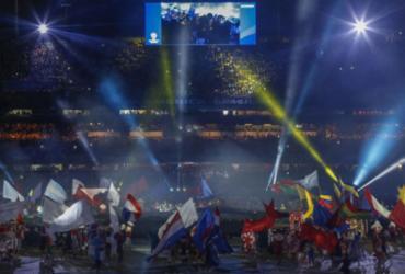 Luzes, fogos e muita cor marcam cerimônia de abertura da Copa América | Miguel Schincariol l AFP