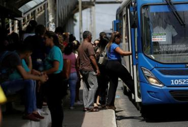 Esquema especial de trânsito e transporte é realizado para concurso da Prefeitura neste domingo | Raul Spinassé | Ag. A TARDE