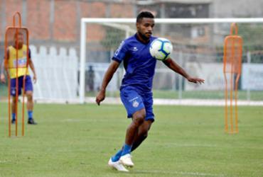 Com retorno de Elber, Bahia treina em dois turnos no Fazendão | Felipe Oliveira | EC Bahia
