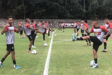 Em tempo integral, Vitória treina com a seleção Toca do Leão | Divulgação | EC Vitória