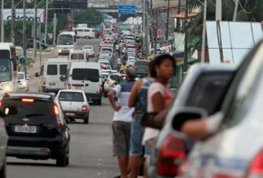 Motoristas esperam até 1h30 em fila de ferryboat | Joá Souza | Ag. A TARDE
