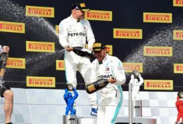 Lewis Hamilton vence GP da França com facilidade e amplia vantagem na Fórmula 1 | Boris Horvat | AFP