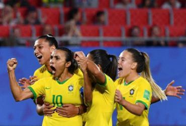 Maior artilheira das Copas, Marta celebra feito: 'Dedico às mulheres' | Phillipe Huguen | AFP
