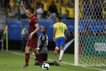 Com 2 gols anulados pelo VAR, Brasil empata com a Venezuela e sofre vaias | Uendel Galter l AFP