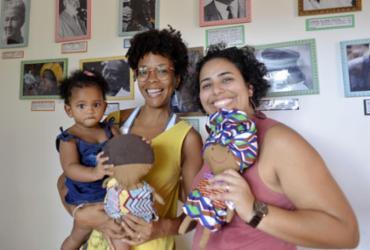 Ateliê de bonecas negras realiza projetos em escolas de Salvador | Shirley Stolze l Ag A TARDE