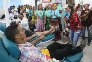 Campanha visa abastecer estoque para a época de festas juninas   Luciano da Matta l Ag. A TARDE