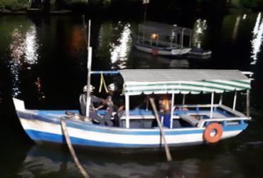 Idoso é resgatado após carro cair no Dique do Tororó | Divulgação | SSP