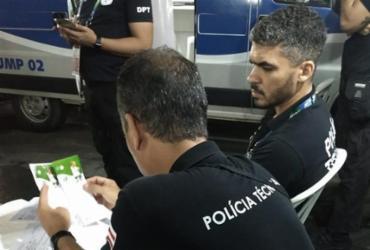 Ingressos para jogo do Brasil são apreendidos com suspeita de adulteração | Marcia Santana | SSP-BA