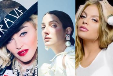 Madonna, Clarice Falcão e Luísa Sonza movimentam lançamentos pop da semana | Reprodução | Instagram