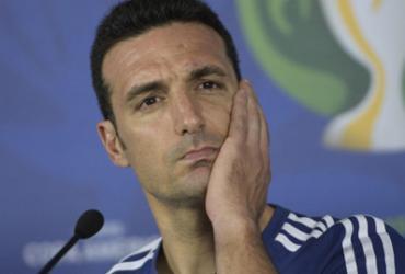 'Se ganho a Copa América, me aposento', brinca Scaloni ao abordar jejum argentino | Juan Mabromata l AFP