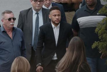 Neymar presta depoimento em delegacia de São Paulo | Ari Ferreira l AFP