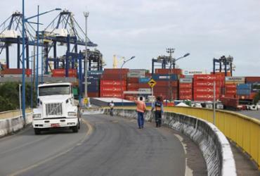 Obras de ampliação do Porto de Salvador voltam a ser suspensas | Joá Souza | Ag. A TARDE
