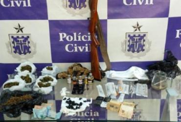 Falso educador físico é preso com drogas e anabolizantes | Divulgação | Polícia Civil