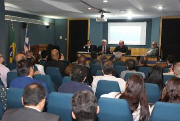 Detalhes técnicos da Ponte Salvador-Itaparica são apresentados a empresas nacionais e internacionais