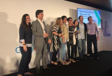 Estudante de Praia do Forte recebe premiação do Google em Brasília