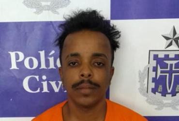 Jovem é preso com arma utilizada em assalto à ônibus | Divulgação | SSP