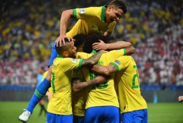 Brasil goleia Peru e vai às quartas da Copa América como líder do Grupo A | Nelson Almeida | AFP
