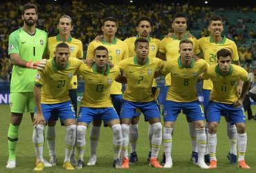 Veja imagens de Brasil x Venezuela pela Copa América |